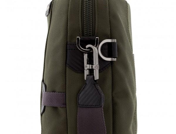 maletín verde bandolera