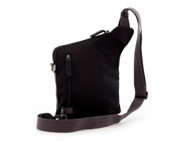 bolso bandolera de hombre negra detrás