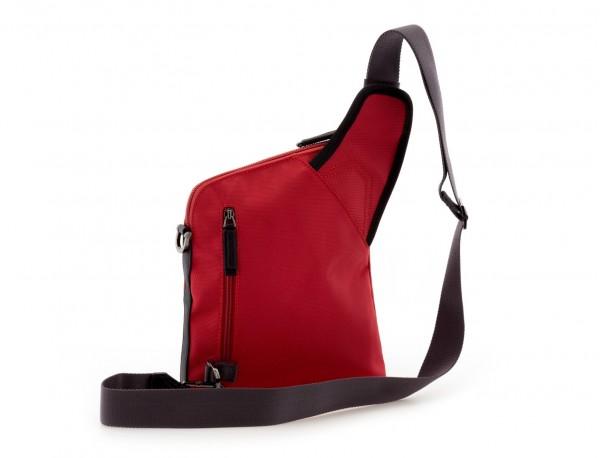 bolso bandolera de hombre roja back