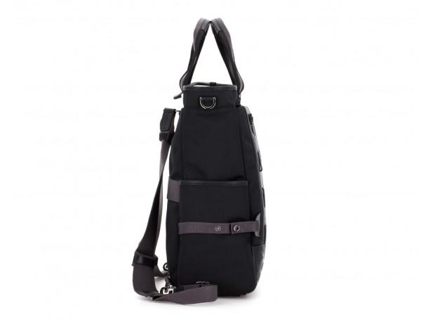 laptop bag and backpack black perfil