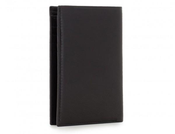 leather wallet for men black side