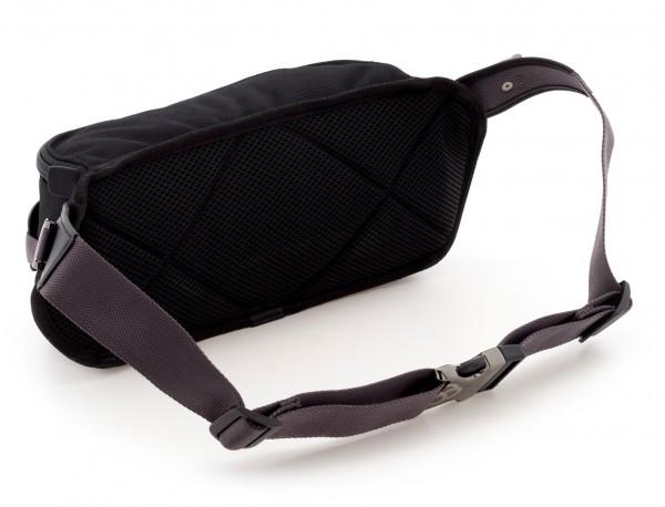 men waist bag black back