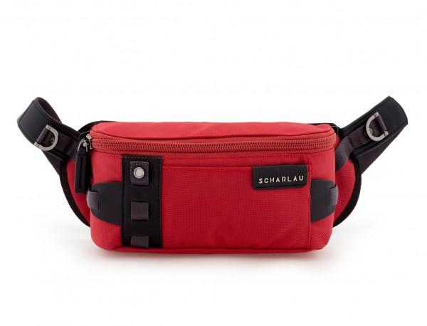 men waist bag red front