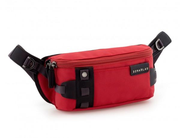 men waist bag red side