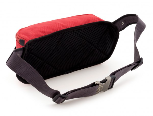 men waist bag red back