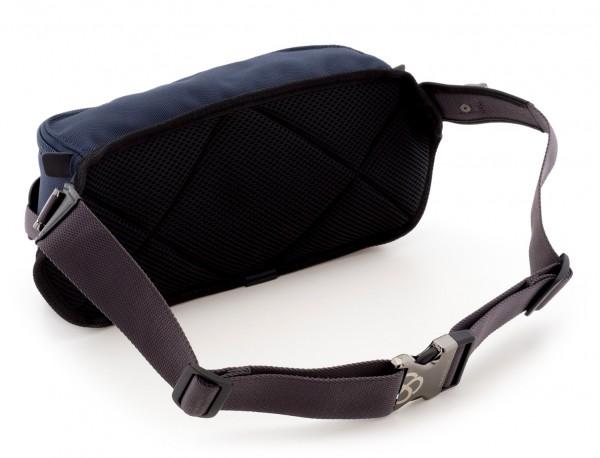 men waist bag blue back