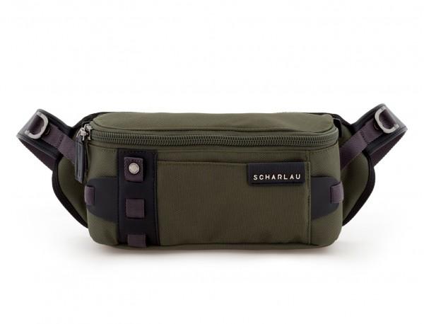 men waist bag green frontal