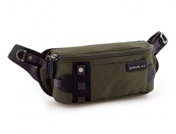 men waist bag green side