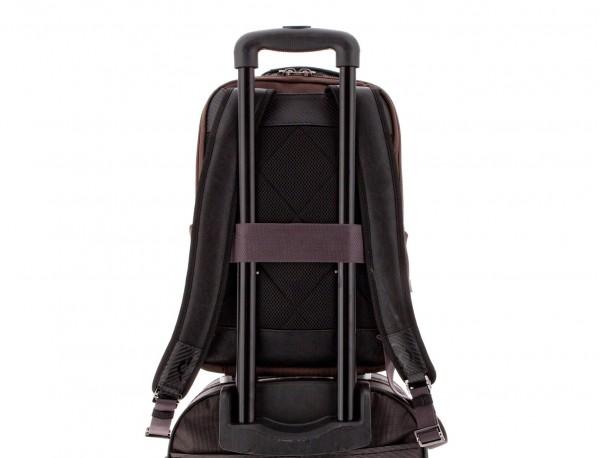 mochila de nylon negra trolley