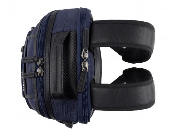 mochila de nylon azul asas