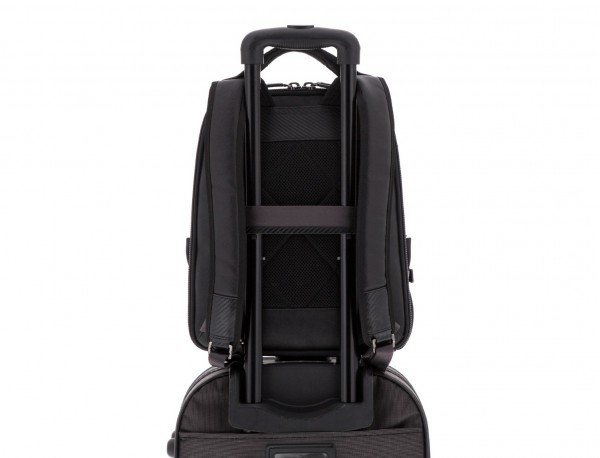 mochila para ordenador negra  trolley