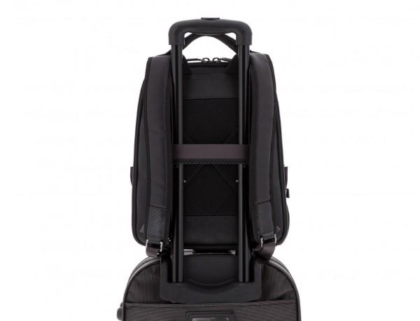nylon backpack black trolley
