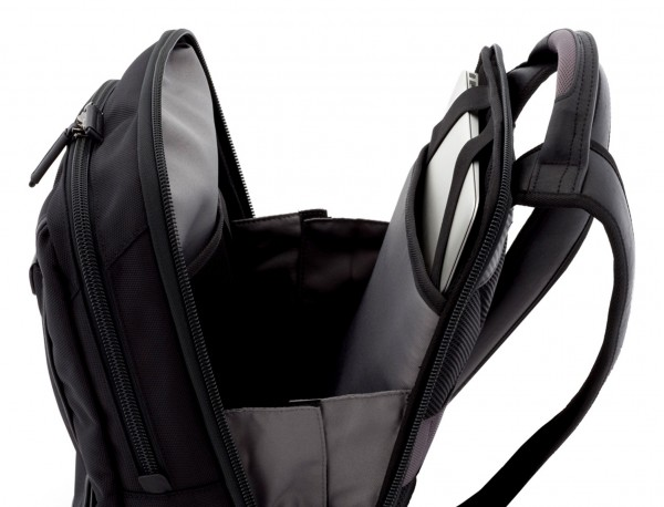 nylon backpack black laptop