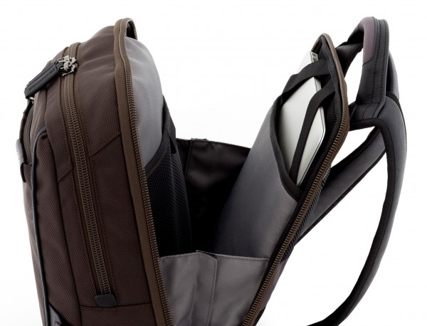 mochila para ordenador marrón ordenador