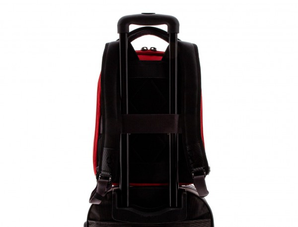 nylon zaino rosso back