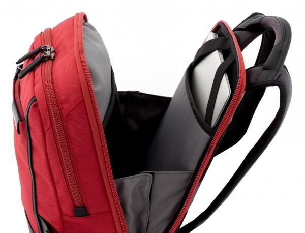 nylon zaino rosso laptop