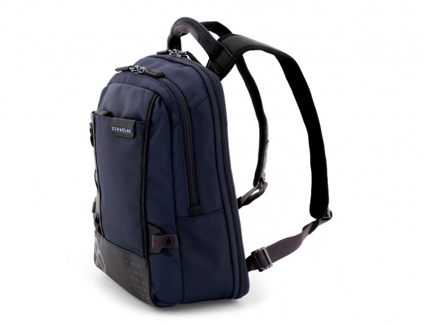 mochila para ordenador azul side
