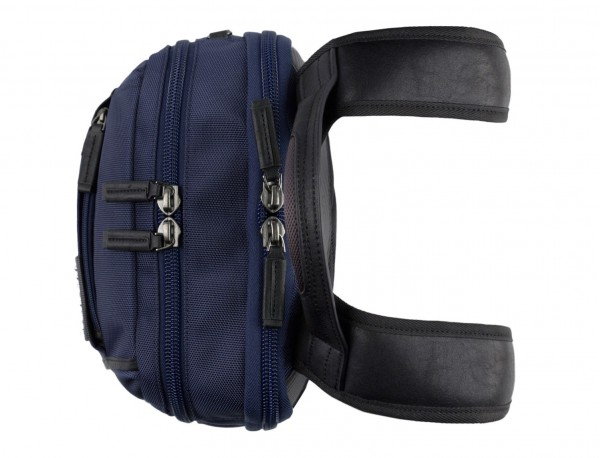 nylon backpack blue handle