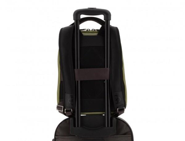 mochila para ordenador verde trolley