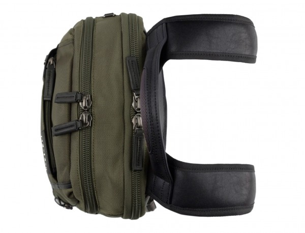 nylon backpack green handle