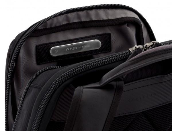 nylon backpack beige side