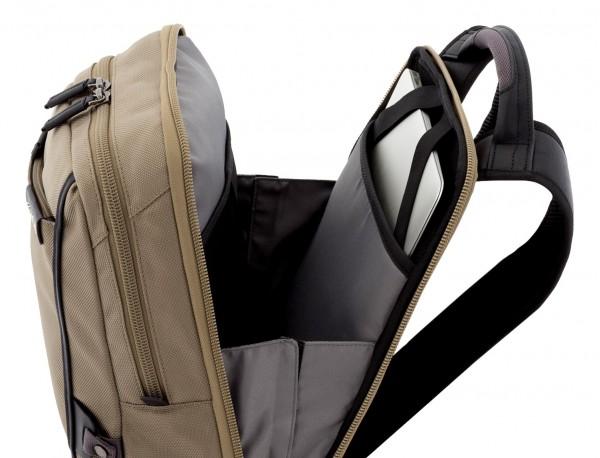 mochila para ordenador beige portátil