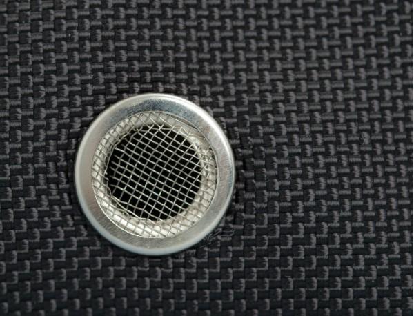 bolsa multiuso mediana con cremallera de nylon balístico Cordura® detalle