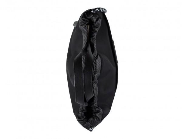 nylon backpack black close