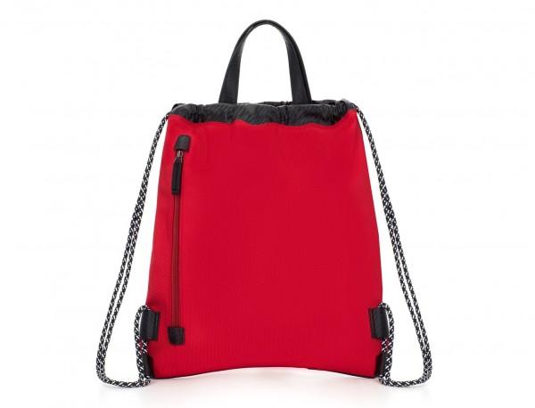 nylon backpack red back
