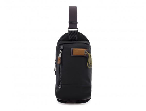 Mono slim bag in black front
