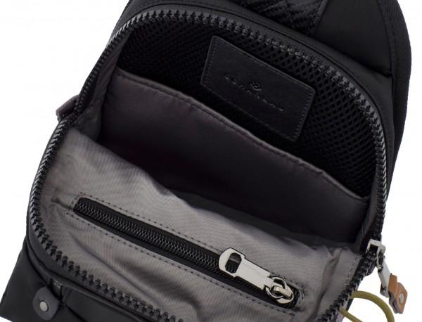Mono slim bag in black open