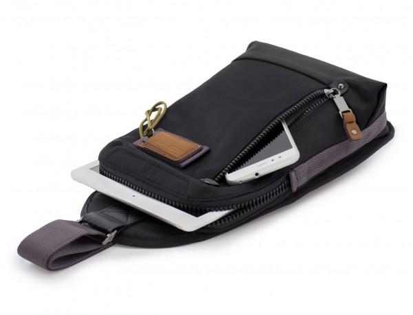 Mono slim bag in black with tablet