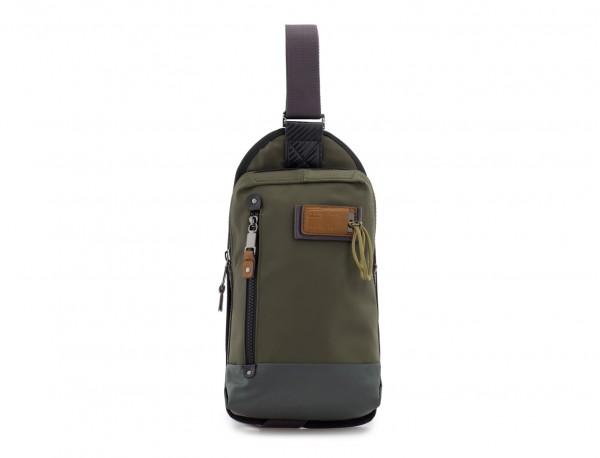 Mono slim bag in green front
