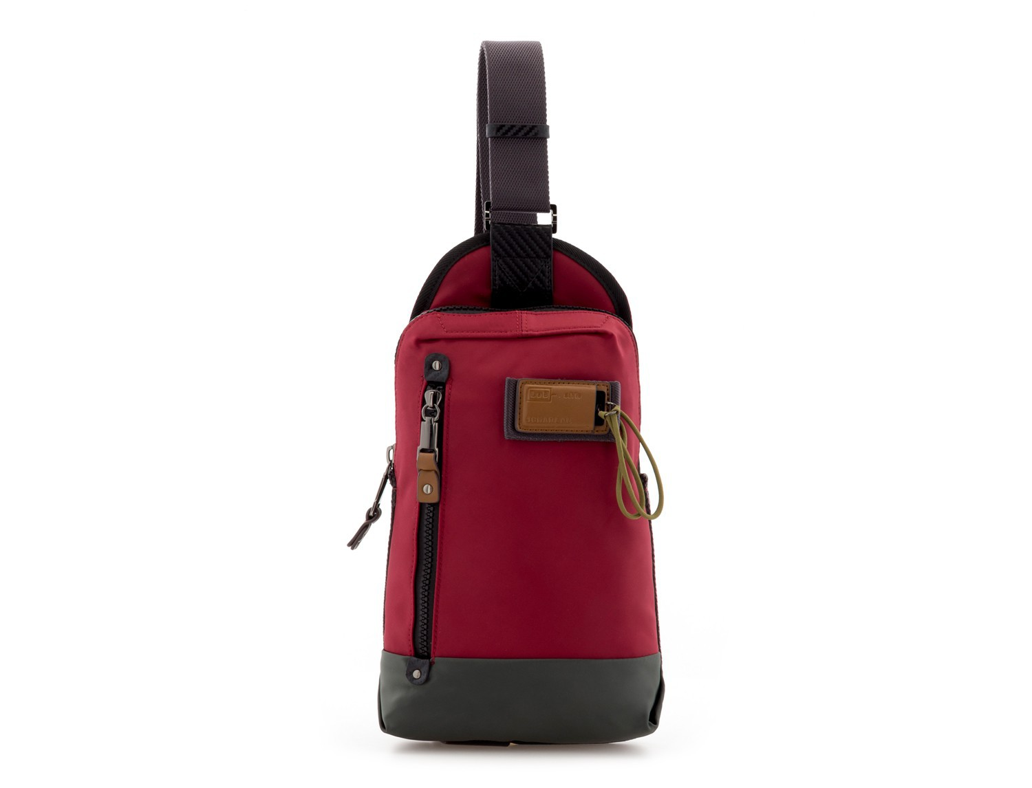 Mono slim bag in red front