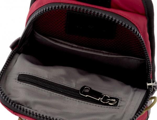 Mono slim bag in red open