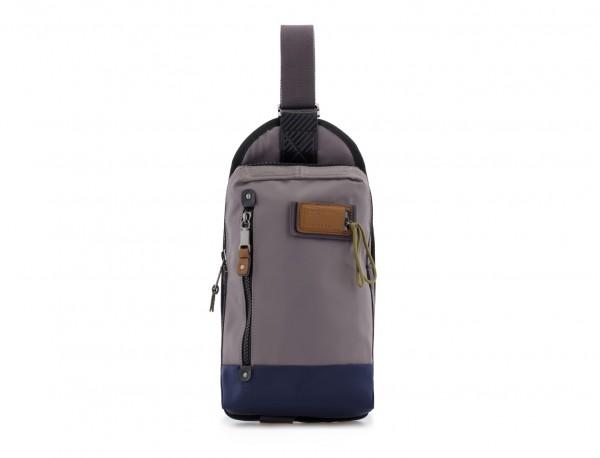 Mono slim bag in gray front
