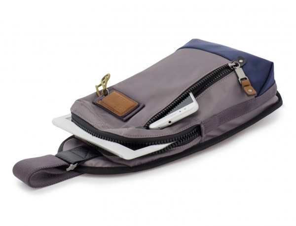 Mono slim bag in gray with tablet