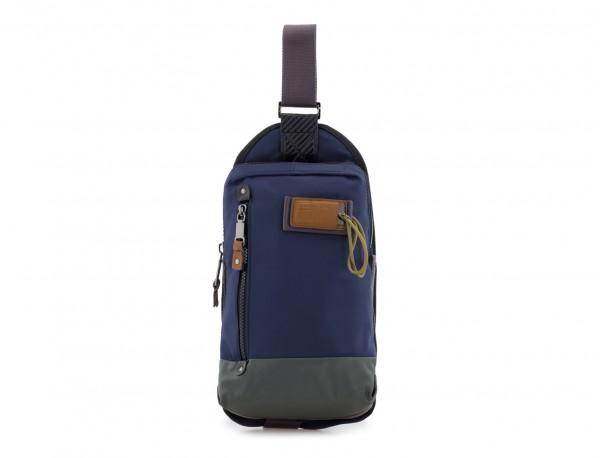 Mono slim bag in blue front
