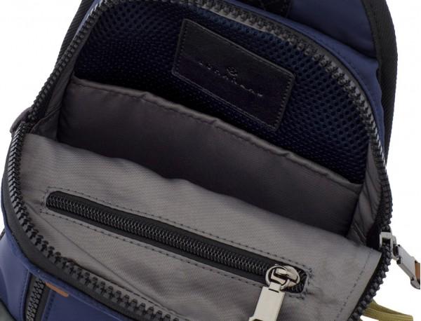 Mono slim bag in blue open