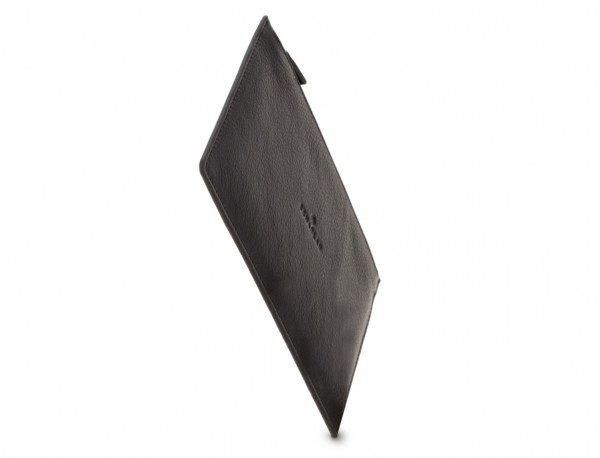 leather mask cover black side