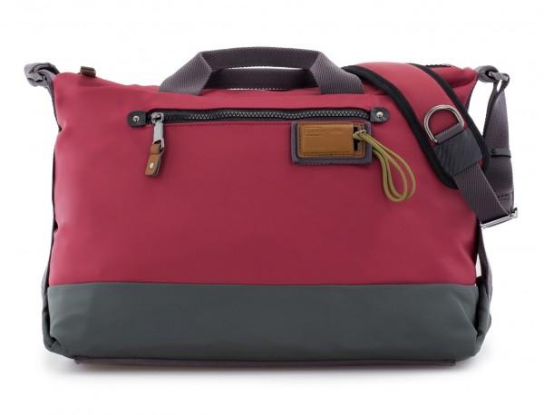 Messenger bag in red front
