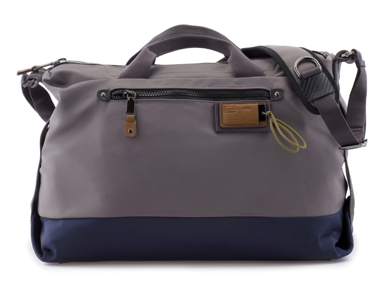 Messenger bag in gray front