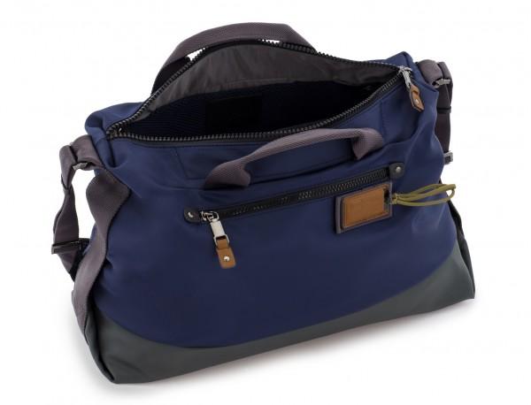 Messenger bag in blue side