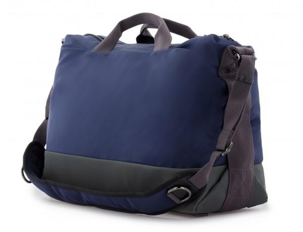 Messenger bag in blue back