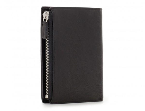 leather wallet in black side