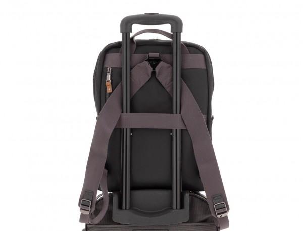 backpack in black trolley