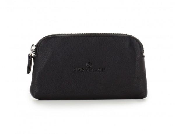 leather key holder wallet front