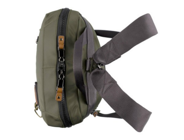 backpack in green up