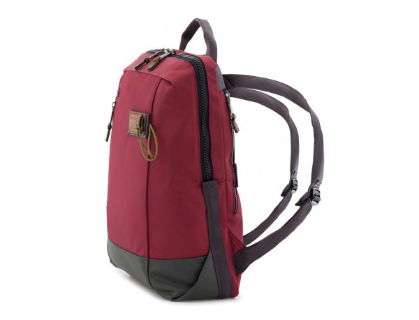 backpack in red side