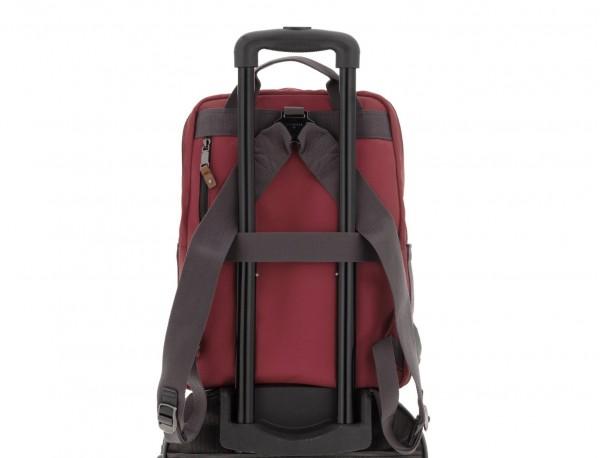 mochila roja trolley